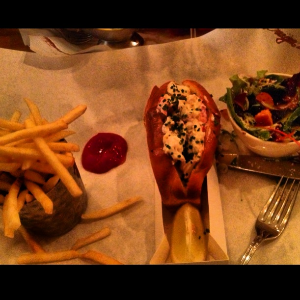 Burger Lobster - lobster roll