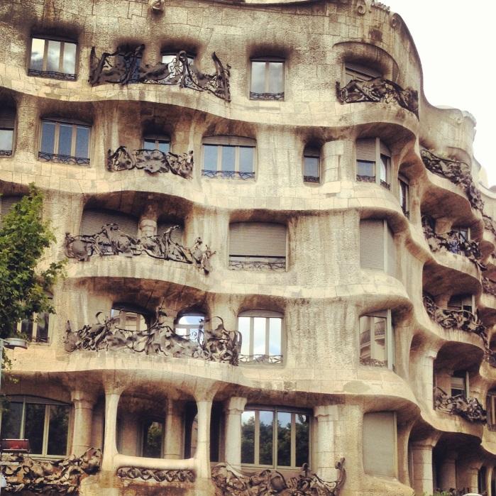 Gaudi Architecture Barcelona