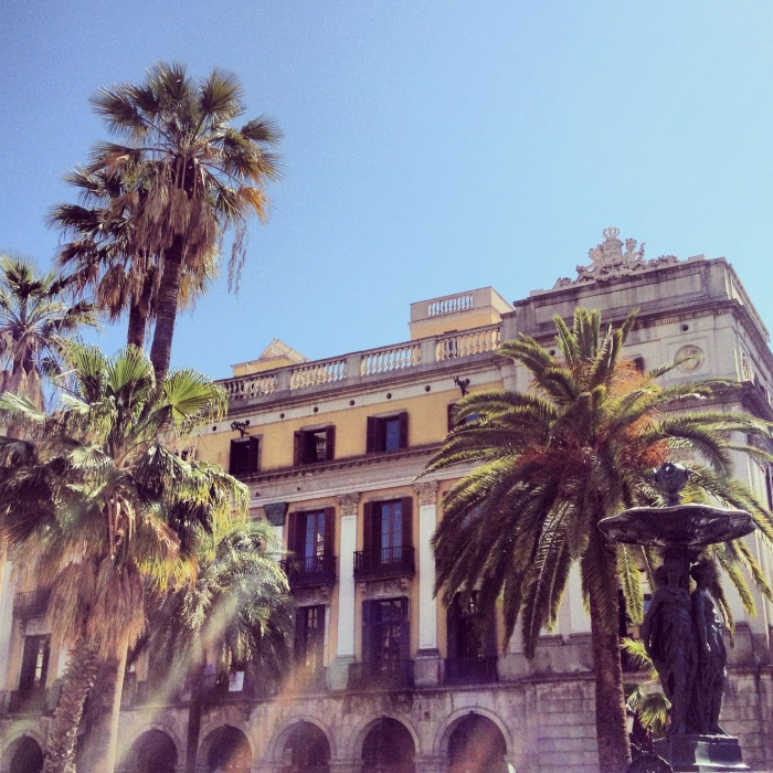 Placa Reail Barcelona