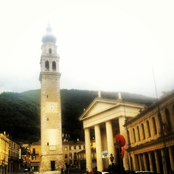 Town Center in Valdobbiadene