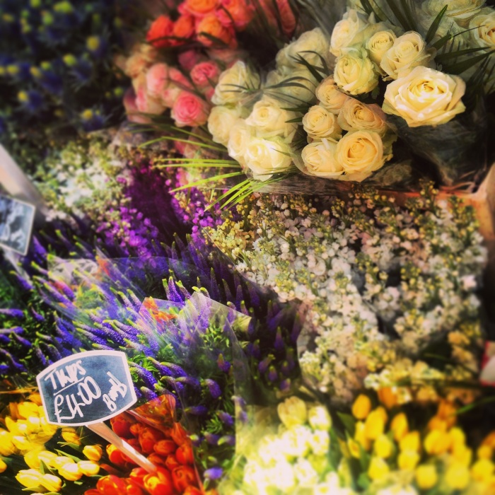 Flowers at the Columbia Road Flower Market