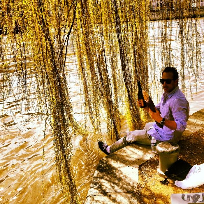 Picnic on River Seine